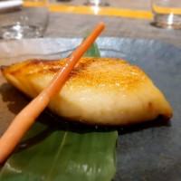 Gindara (bacalao negro) Al Horno Marinado En Miso