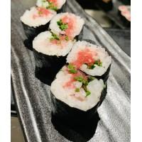 Maki Negitoro (ventresca de atún & cebollino)