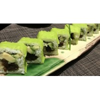 Maki Vegetariano De Calabaza, Seta, Pepino & Aguacate